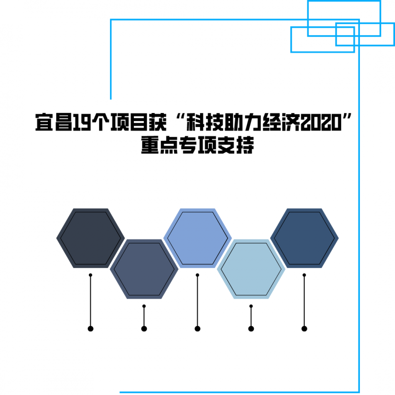 Yichang 19 projects won the